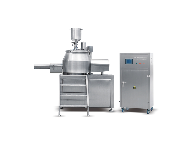 HJSG-200/600 Intelligent automatic high-efficiency mixing granulator